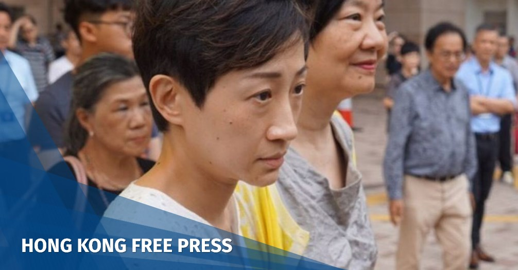 Hong Kong lawmaker Tanya Chan handed suspended sentence over Umbrella Movement charges