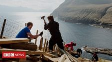 Faroe Islands 'close down' as tourists fly in to repair them