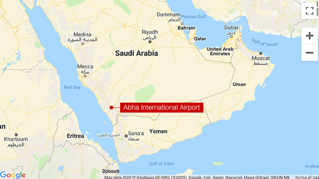 Abha International Airport: Missile hits arrivals hall, injuring 26