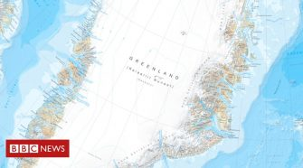 Greenland map captures changing Arctic in fine detail