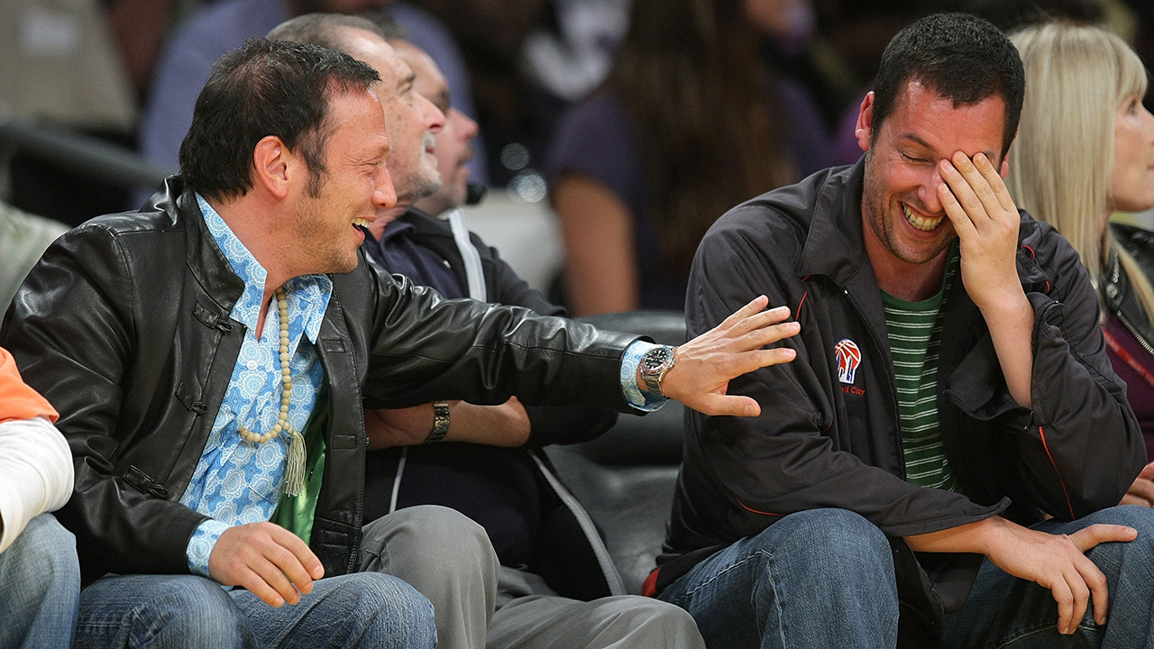 Rob Schneider hits back at Adam Sandler, says 'it would be fun' to pin him for murder: 'I know his secrets'