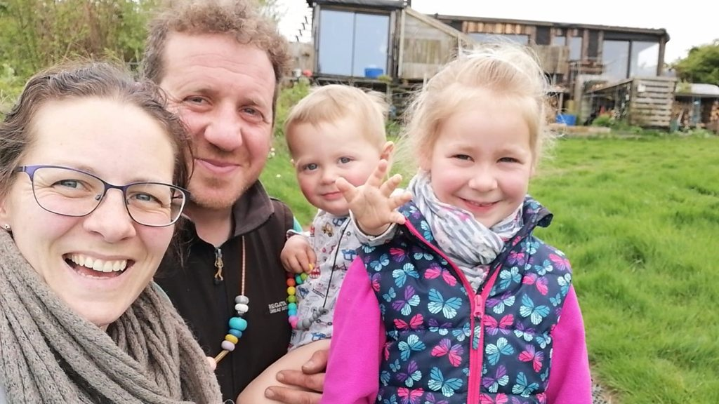The family-of-four living off grid