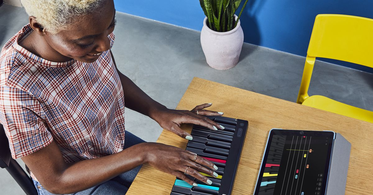 Roli unveils Lumi: a light-up keyboard that teaches you to play piano