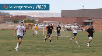 Mustang coaches, athletes breaking new ground at soon-to-open Crimson Cliffs High School – St George News
