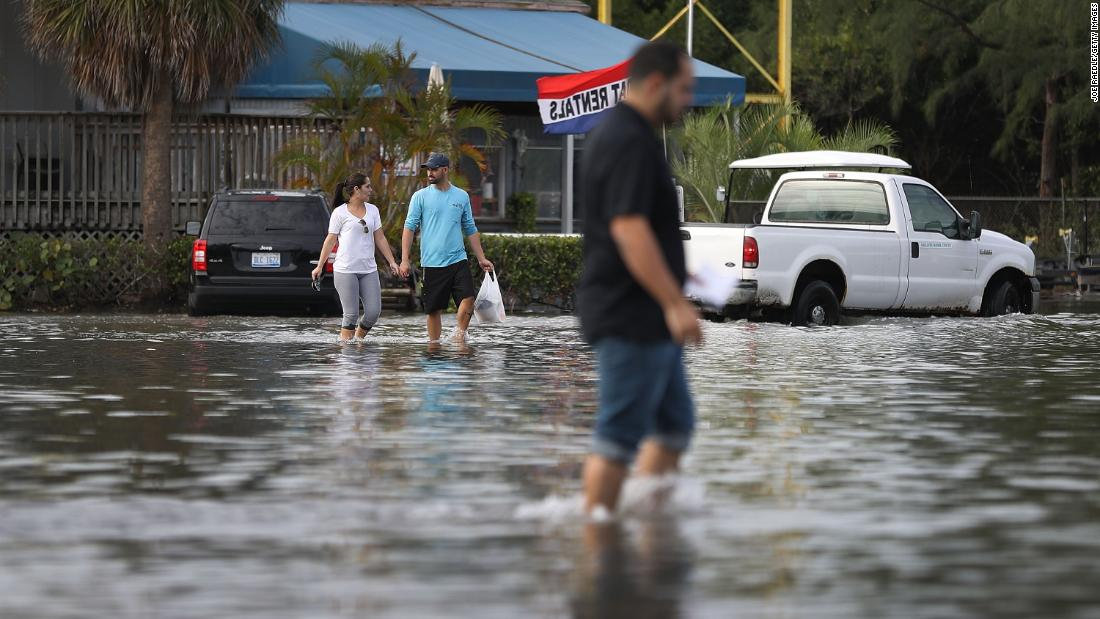 Climate change wreaks havoc across Florida as Democratic candidates take the debate stage