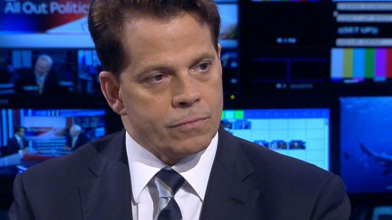 Anthony Scaramucci says Donald Trump is not a warmonger