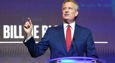 Police union calls Mayor Bill de Blasio 'full of sh--' for offering condolences after officer's suicide