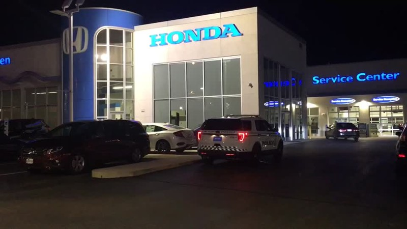 2 reportedly break-in, steal vehicle from White Allen Honda