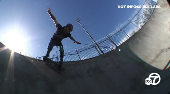 Skateboarding while blind: When technology replaces sight