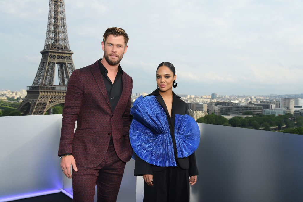 Are Tessa Thompson and Chris Hemsworth Friends In Real-Life?