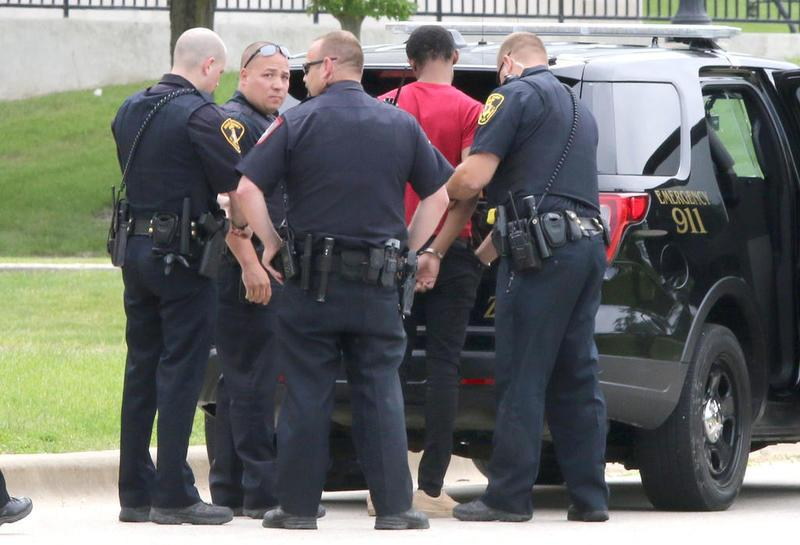 BREAKING: NIU police arrest man on campus after high-speed chase