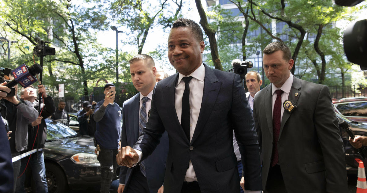APTOPIX Cuba Gooding Jr Groping Allegation
