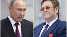 Elton John responds to Vladimir Putin's LGBTQ comments following 'Rocketman' censorship