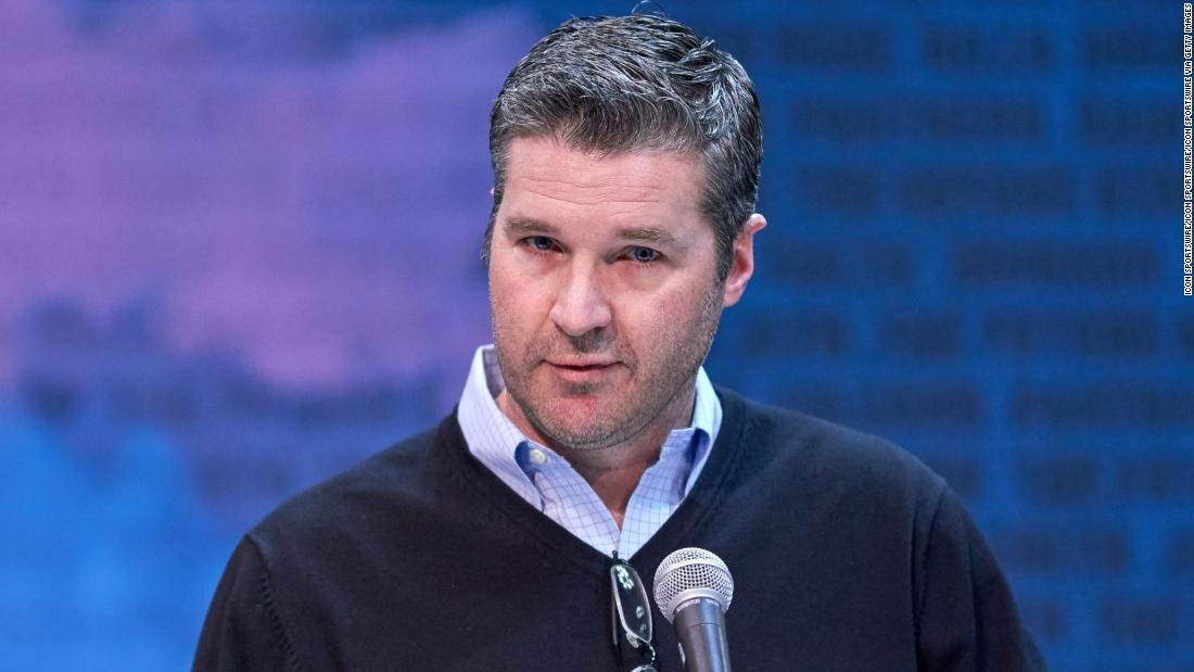 Brian Gaine was general manager of the Houston Texans from January 2018 to June 2019.