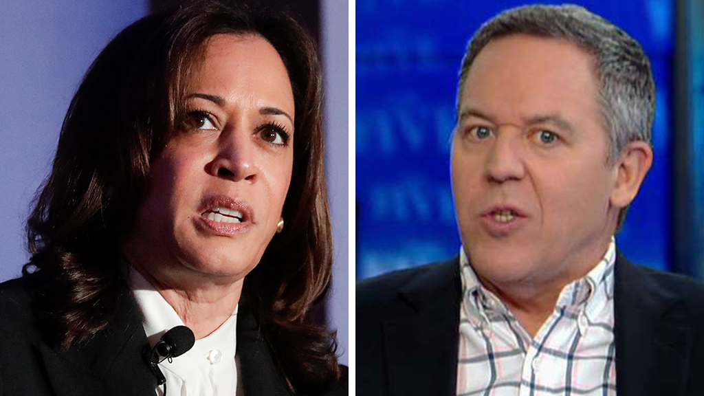 Greg Gutfeld: Kamala Harris looks 'desperate' saying she would have 'no choice' but to prosecute Trump