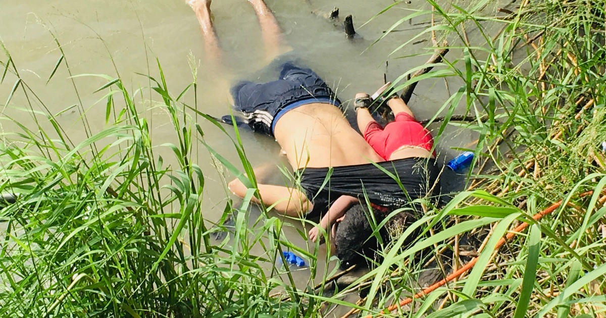 """""""I hate it"""": Trump and lawmakers react to tragic photo of migrant father and daughter"""