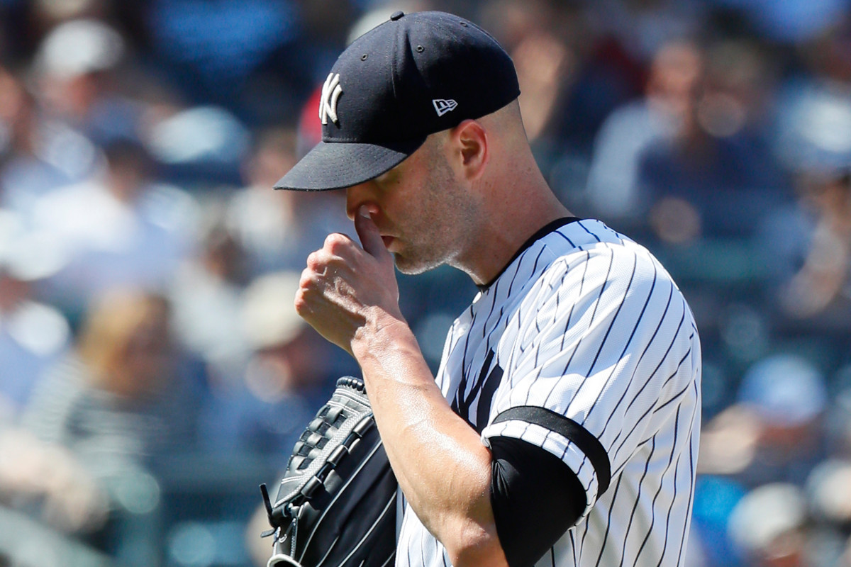 It's panic time for Yankees' J.A. Happ