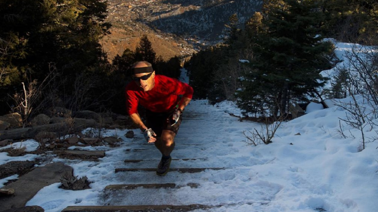 Man halfway to breaking Manitou Incline record
