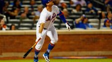 Pete Alonso is six home runs away from breaking Mets' rookie record