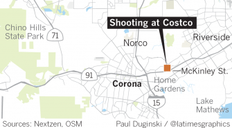 Shooting and injuries are reported at Costco in Corona - Los Angeles Times