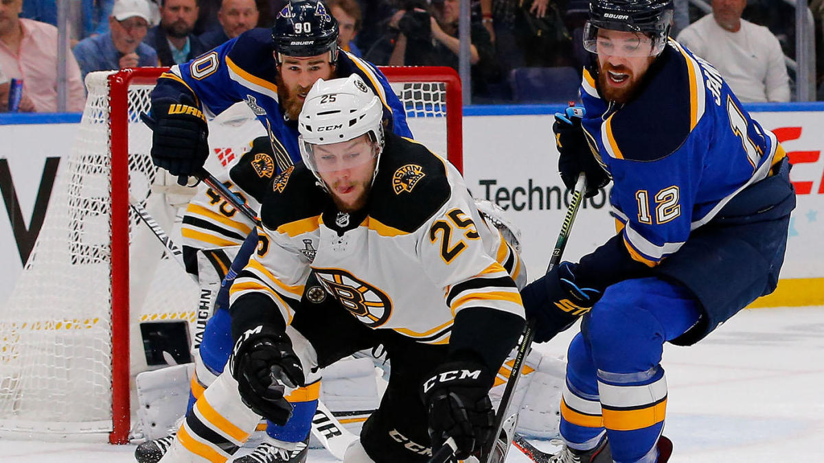 Stanley Cup Final: Bruins beat Blues, 5-1, to force Game 7 back in Boston