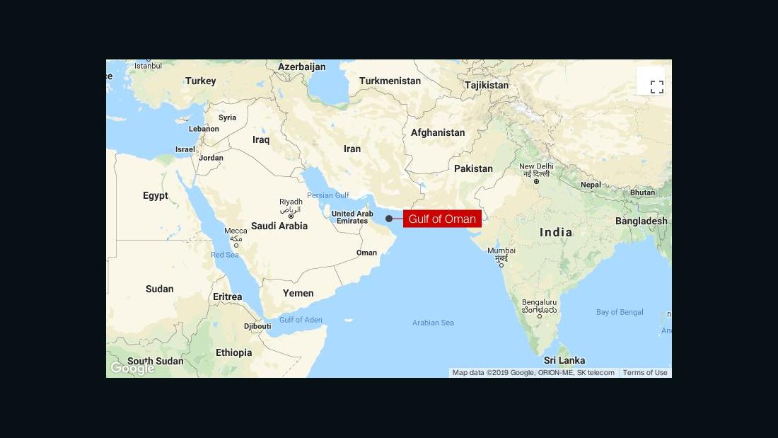 Tanker incident in Gulf of Oman: Live updates