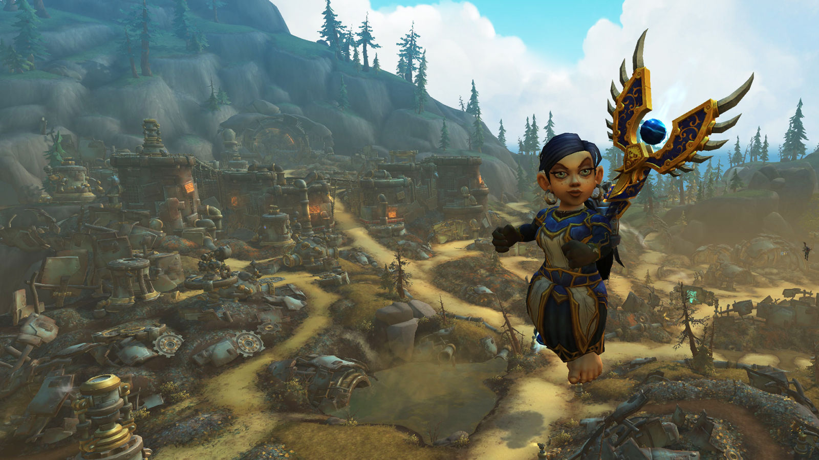 World Of Warcraft's New Cyber-Gnome Wonderland Is The Best Place On Azeroth