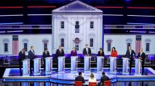 Democrats tussle on health insurance, economy, immigration in first debate