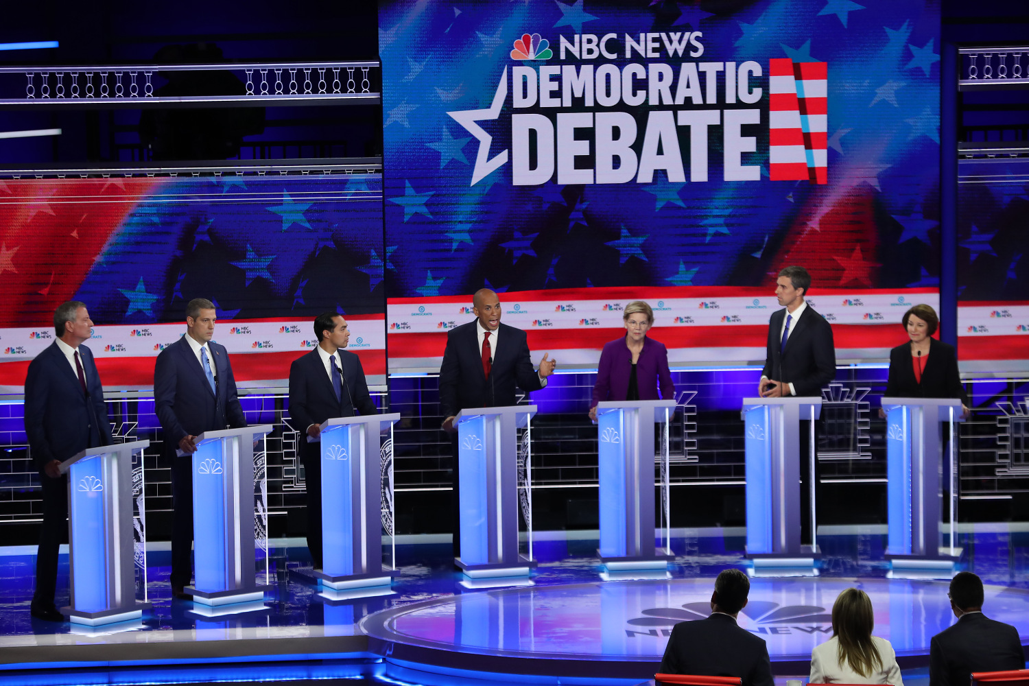 Candidates Clash Over Health Insurance, Economy During First Democratic Debate In Miami – CBS Miami
