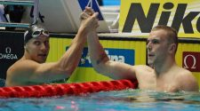 Australia's Kyle Chalmers claims silver at world swimming championships