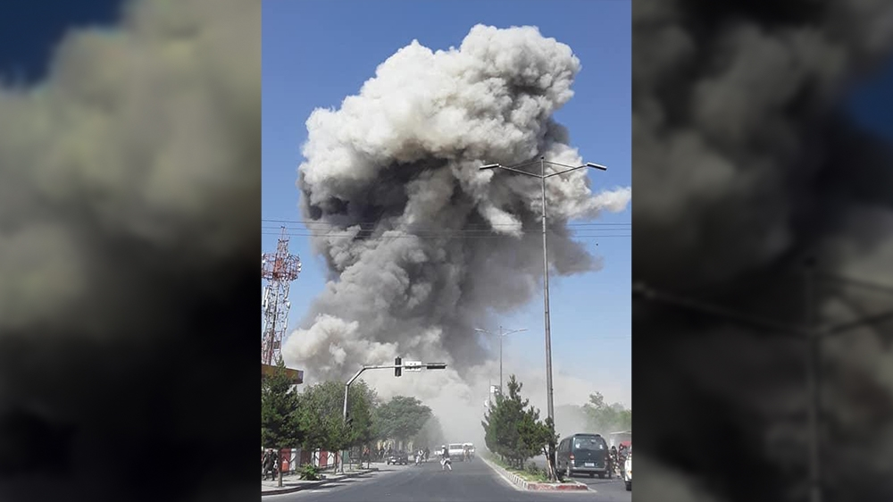 Kabul blast: Taliban attack kills at least 10 in Afghan capital, | Afghanistan News