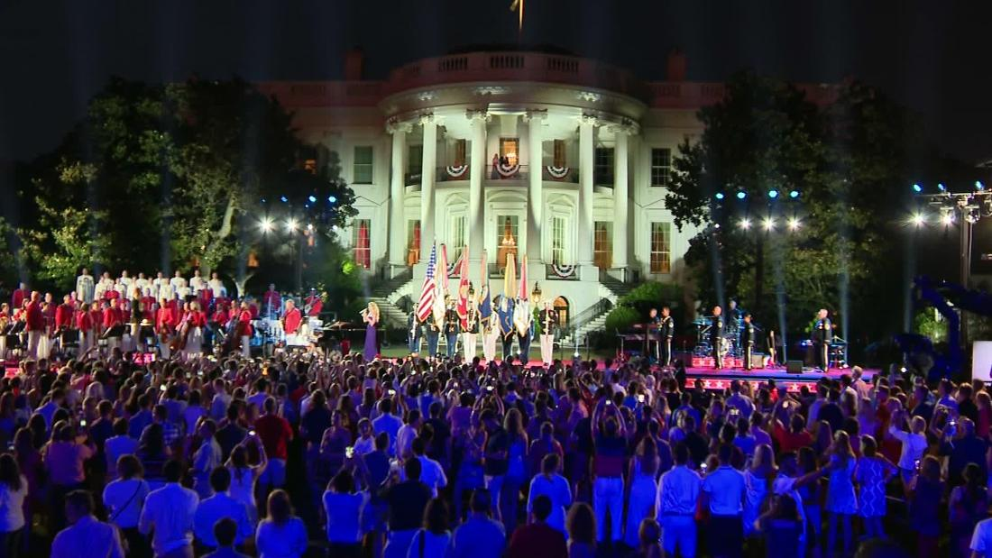 Donald Trump's July 4th show: Critics fear it is a salute to himself