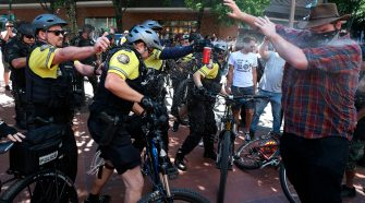 Violent clashes in Portland, Ore., prompt call for anti-mask laws