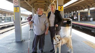 New technology gives disabled LIRR riders an assist boarding trains