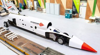 Bloodhound supersonic car to run at high speed in October