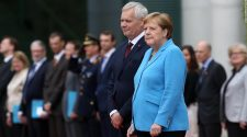 Angela Merkel seen shaking for second time in weeks