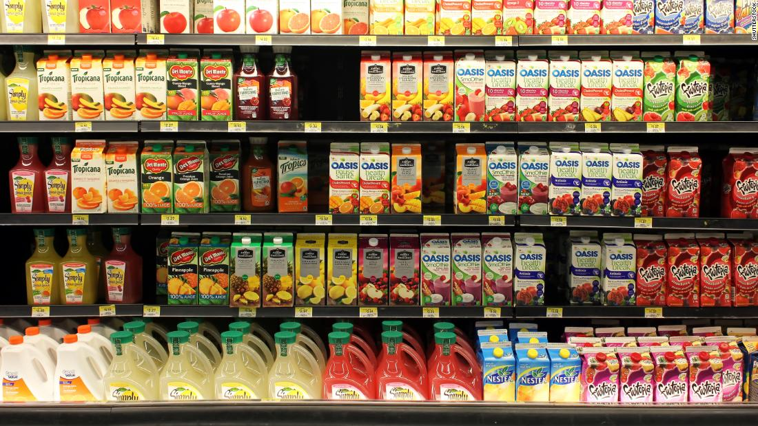 Study links a small glass of juice or soda a day to increased risk of cancer