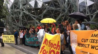 Protesters petition Amazon to stop selling technology to ICE - Tech News