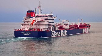 Iran says it seized tanker after collision, UK fears 'dangerous path'
