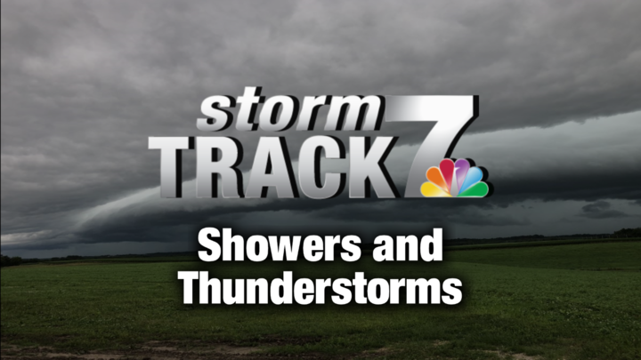 TRACKING: Thunderstorms breaking the heat wave