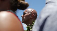 Dwayne 'The Rock' Johnson joins native protesters in Hawaii