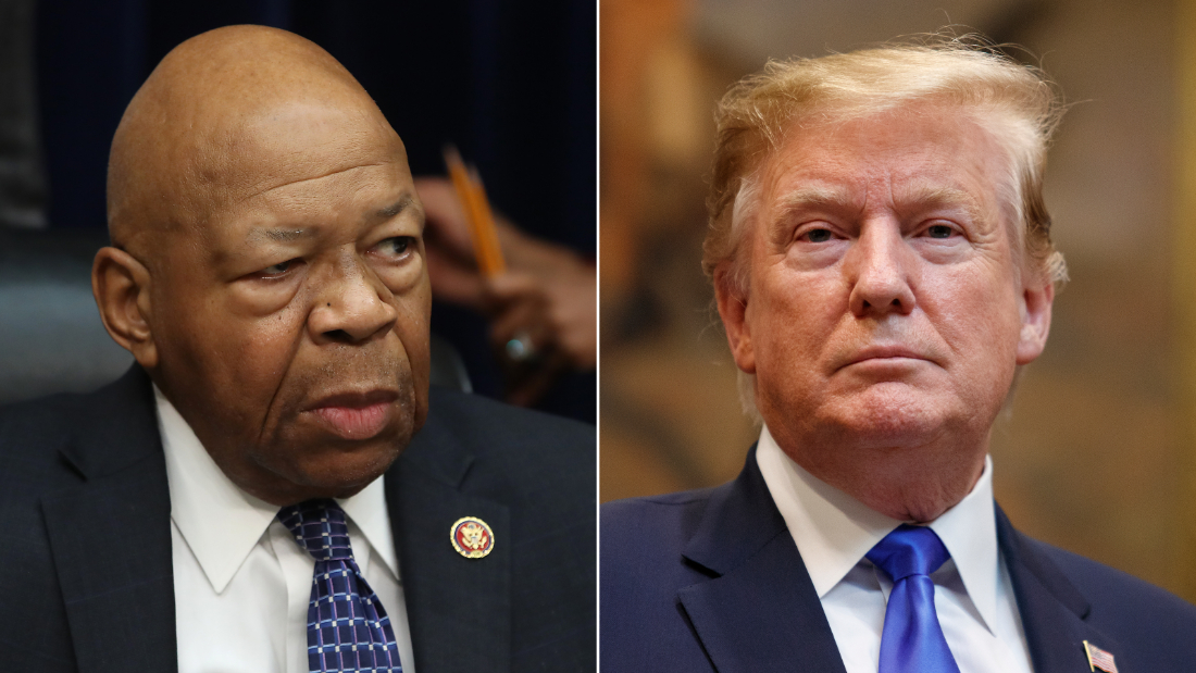 Elijah Cummings: Trump blasts Baltimore-based district as 'disgusting,' 'rodent infested mess'
