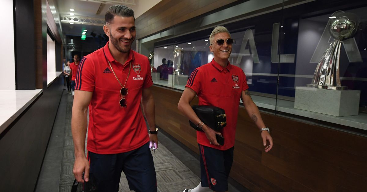 Sead Kolasinac and Mesut Ozil left out of Arsenal friendly after carjacking attempt