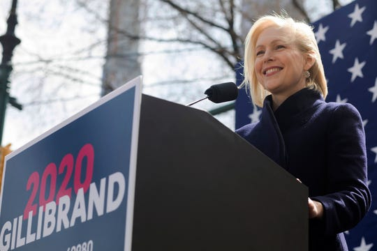 Sen. Kirsten Gillibrand, D-N.Y., has been a fierce advocate of paid family medical leave for more than six years, and has made it a priority of her presidential campaign.