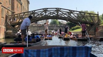 Hottest UK day on record in Cambridge during recent heatwave
