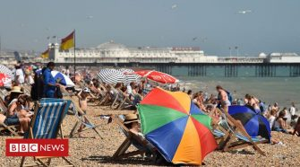 Climate change: UK's 10 warmest years all occurred since 2002