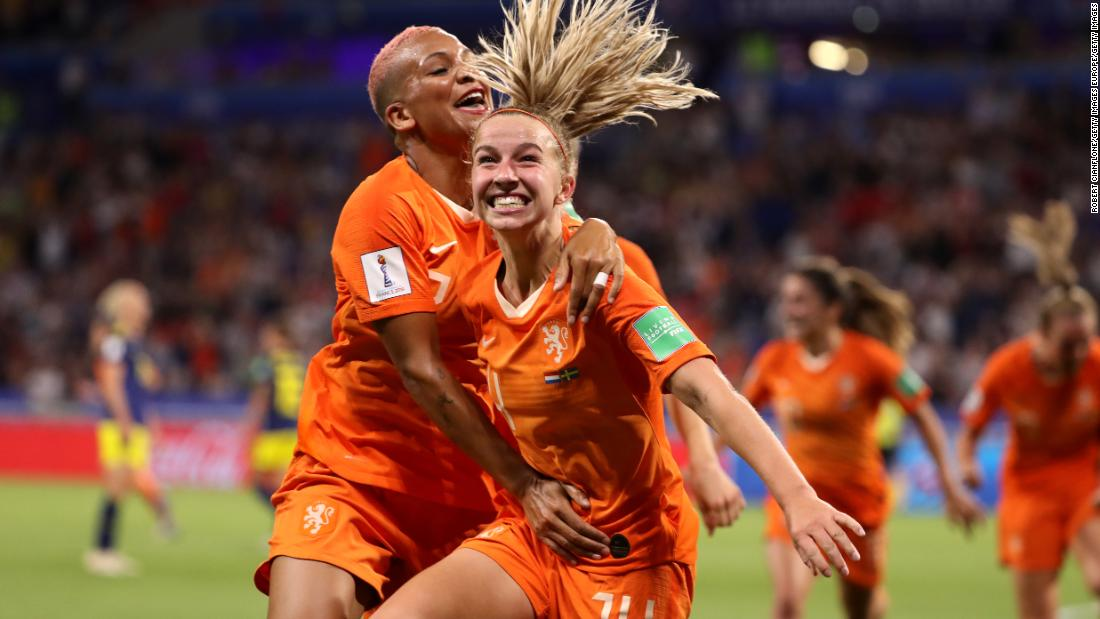 Netherlands will face US in Women's World Cup final after beating Sweden in extra-time