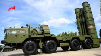 Turkey receives shipment of S-400 missile defense technology from Russia