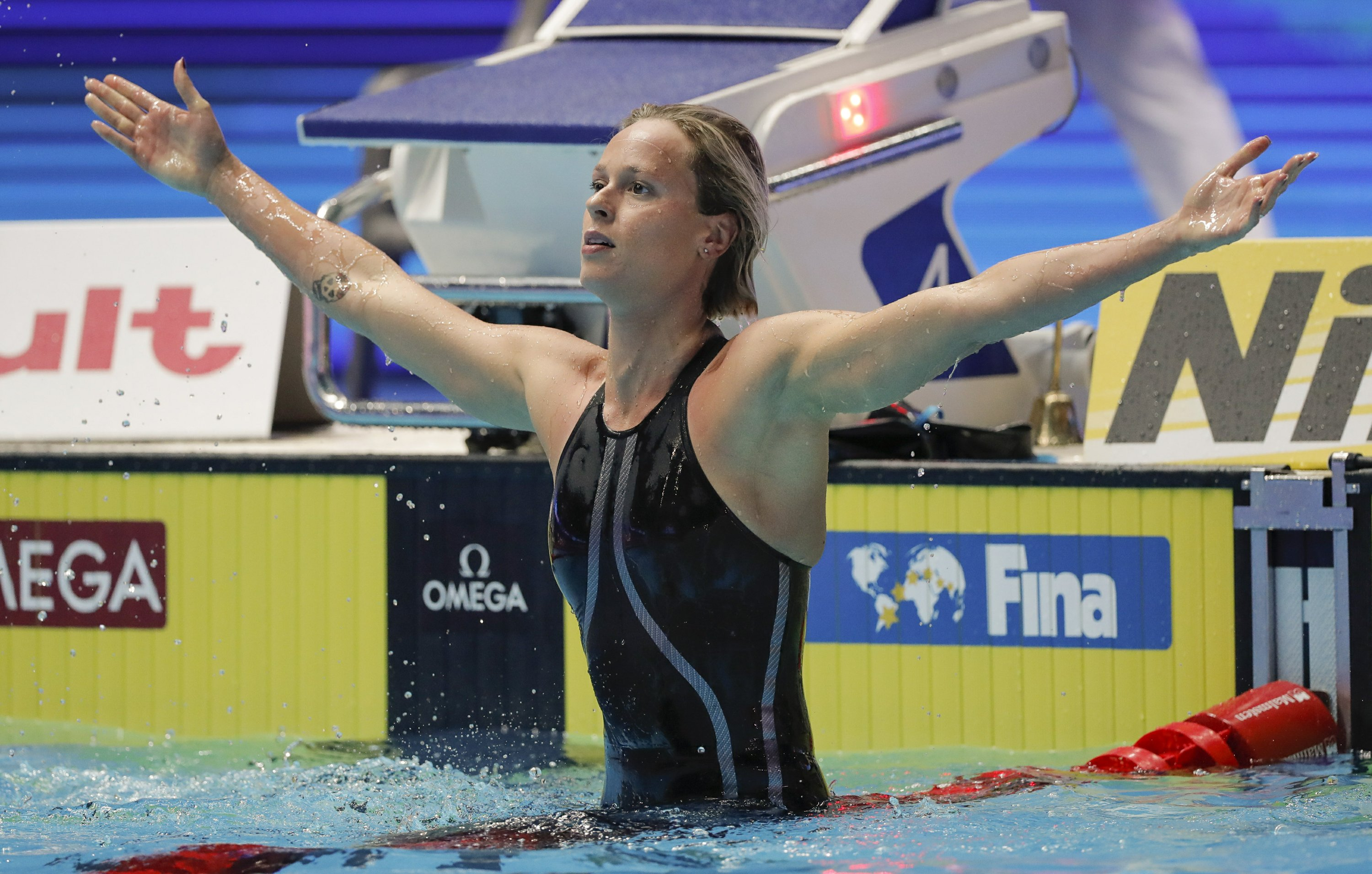 Pellegrini wins 8th world medal in 200 free