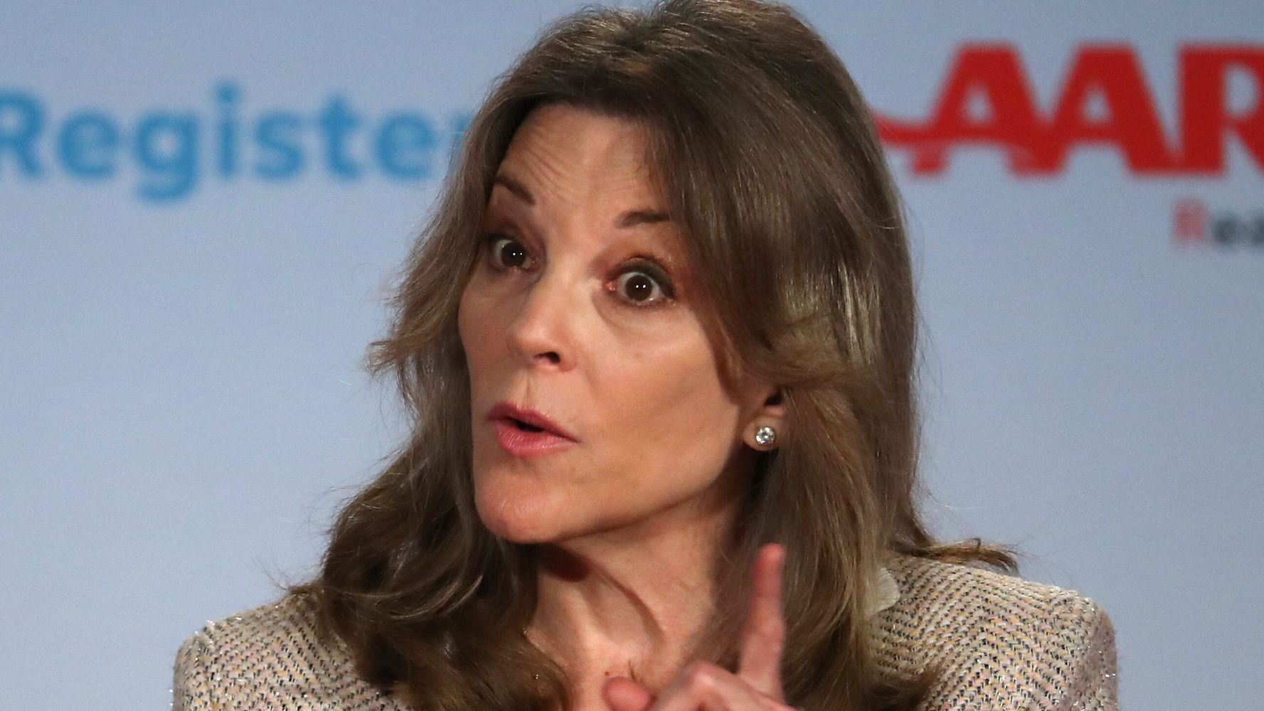 Marianne Williamson Defends Controversial Kate Spade Mental Health Tweet